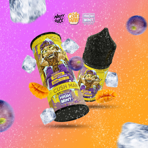 ● [Nasty Cush Man High MInt] 망고 그레이프/Mango Grape (50VG) 30ml