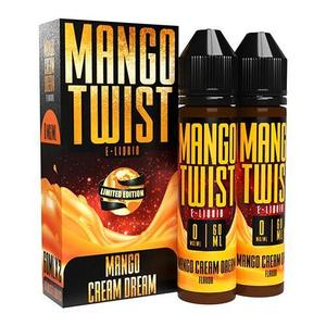 [Mango Twist E-Liquids] 망고 크림 드림 Mango Cream Dream (70VG) 60ml