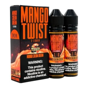 [Mango Twist] 망고 크림 드림/Mango Cream Dream (70VG) 60ml