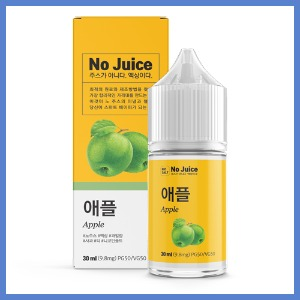 ● [No Juice] 애플/Apple (50VG) 30ml