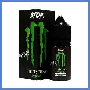 ● [3TOPs] 몬스터즈 오리지날/Monsters Original (50VG) 30ml
